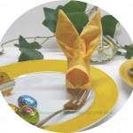 #Basteltipp der Woche Nr. 11-Servietten falten für Ostern
