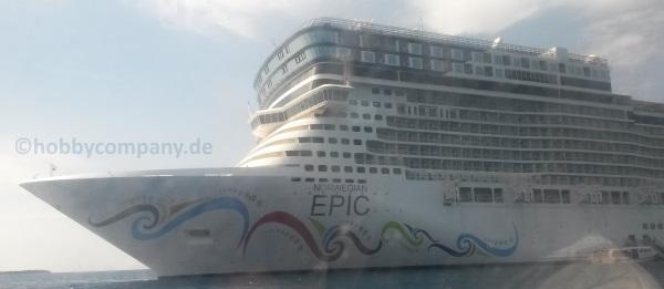 Stampin Up Kreuzfahrt auf der Norwegian Epic