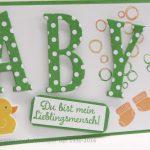 Baby – Grußkarte zur Geburt