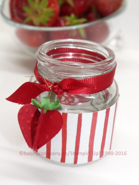 Erdbeeren - Geschenkideen aus der Küche - Basteln mit Papier und ...