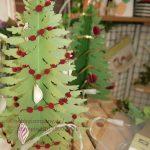 Stempelparty in Quickborn mit Weihnachtsbäumen