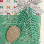Designerpapier-Weihnachtstüte