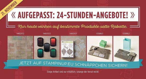 Online-Preisspektakel 24 Stunden Angebot