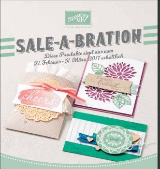 neue Sale-a-bration Produkte von Stampin Up!
