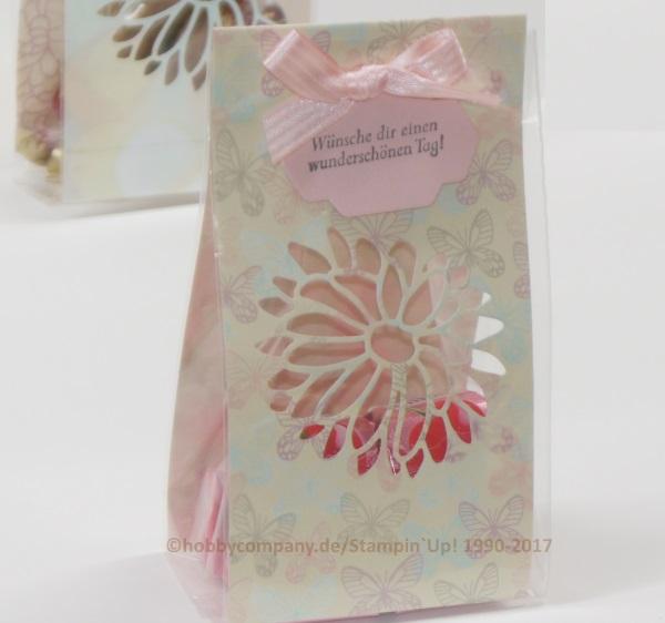 Geschenkverpackung Blumenkreation