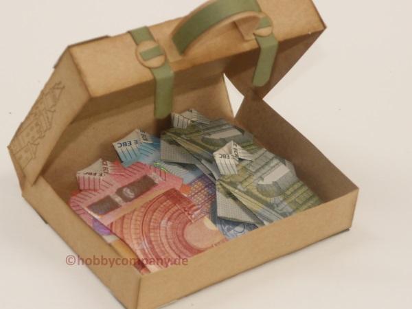 Koffer Fur Geldgeschenke Meine Anleitung Fur Eine Verpackung