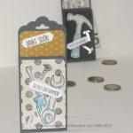 Trinkgeld Verpackungsidee
