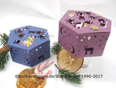 Geschenkverpackung wie ein Weihnachtslied