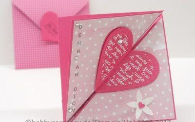 Karten Idee basteln zum Muttertag