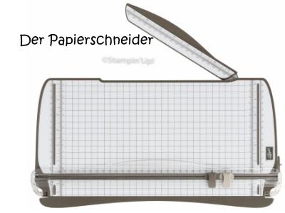 Papierschneider von Stampin Up!