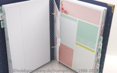 Planer-Set von Stampin Up! Unboxing
