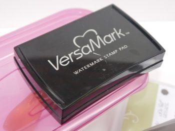 Embossingpulver mit VersaMark