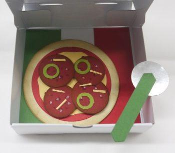 Einladung zum Pizzaessen