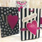 Verpackung zum Valentinstag basteln