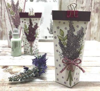 Verpackung mit Sale-a-Bration Stempelset Lots of Lavender