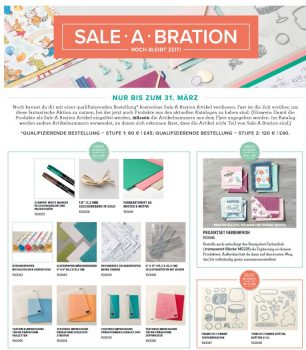 Sale-a-Bration Aktion 2018