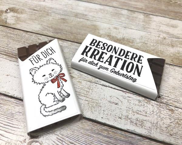 Geschenkideen Mit Schokolade Und Den Stempeln Von Stampin Up