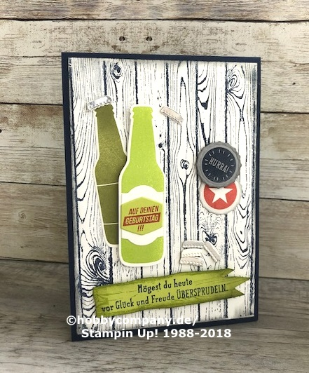 Geburtstagskarten Selber Machen Fur Manner.Geburtstagskarte Fur Manner Mit Dem Stempelset Auf Dich