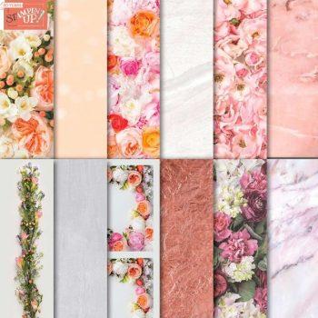 Designerpapier Blütenpracht