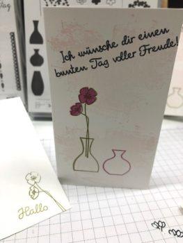 Stempelset wunderbare Vasen