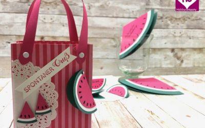 Geschenktüte Wassermelone