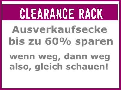 Clearance Rack Ausverkaufsecke
