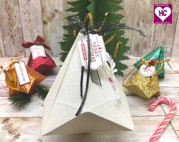 Diamant-Verpackung Origami Anleitung