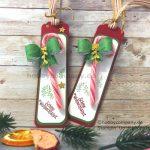 Geschenkanhänger basteln für Weihnachten