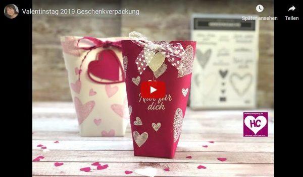 Valentinstag 2019 Verpackung bsteln