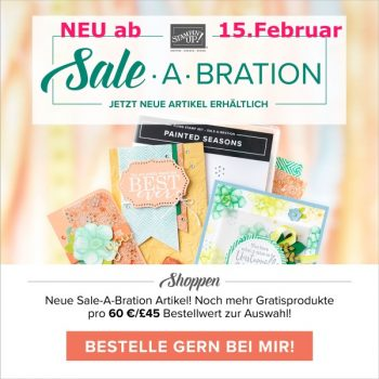 Sale-a-Bration-Aktion Stampin up