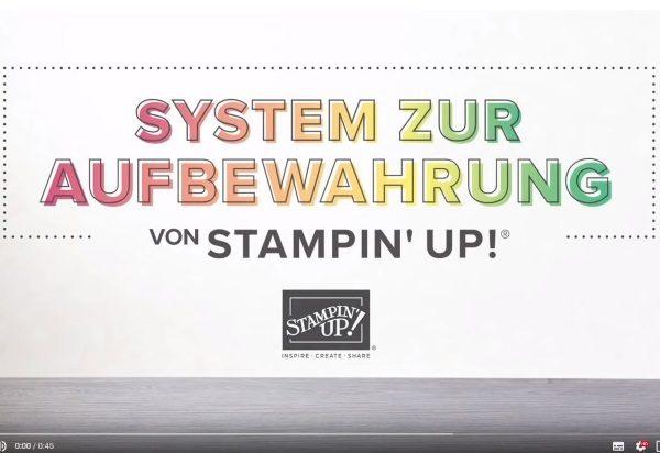 Aufbewahrungssystem von Stampin' Up!