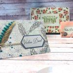 Karten basteln mit Paper Pumpkin