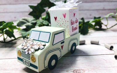 Hochzeitsgeschenk basteln