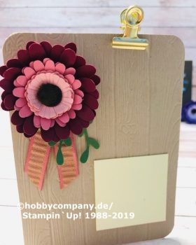 Blumen basteln aus Papier