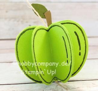 Herbstdeko Apfel