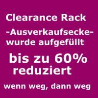 clearance rack-Ausverkaufsecke