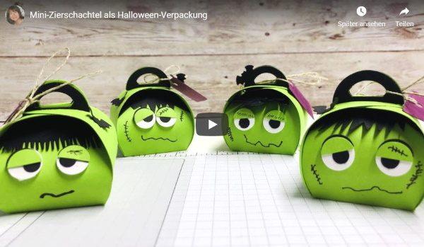 Halloweenverpackung basteln