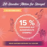 15% Rabatt Aktion STampin Up!