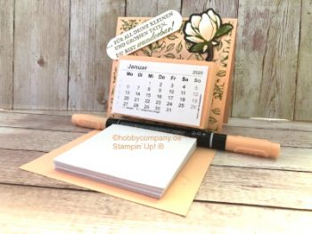Mini-Tischkalender basteln