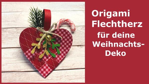 Origami Flechtherz