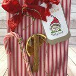 Weihnachtliche Verpackung Box
