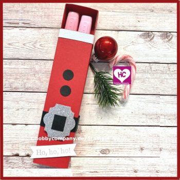 Verpackung Weihnachtsmann