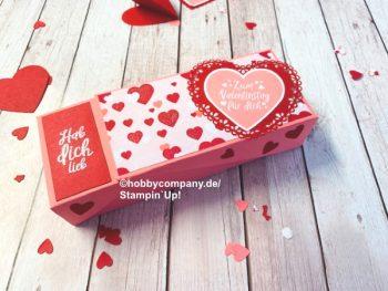 Klappbox zum Valentinstag