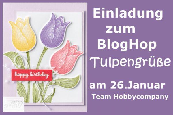 BlogHop Tulpengrüße