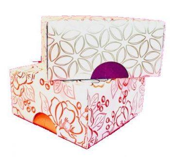 Geschenkbox mit Deckel basteln