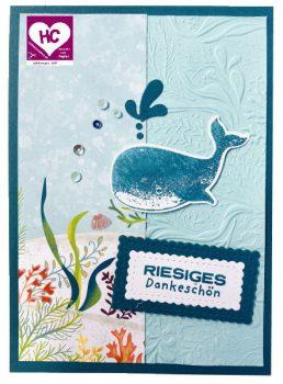 Grußkarte Fantastfisch