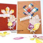 Geburtstagskarte im Herbst