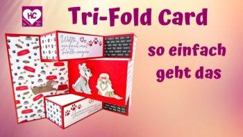 Tri-Fold Card-video