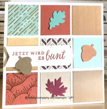 Goldener Herbst Stampin`UP