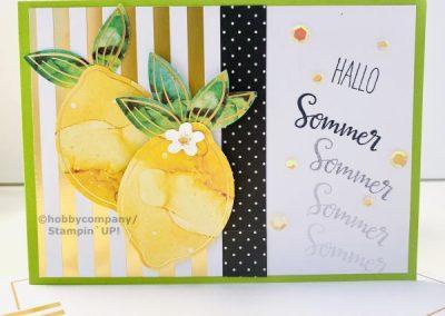 8 sommerliche Karten gestalten